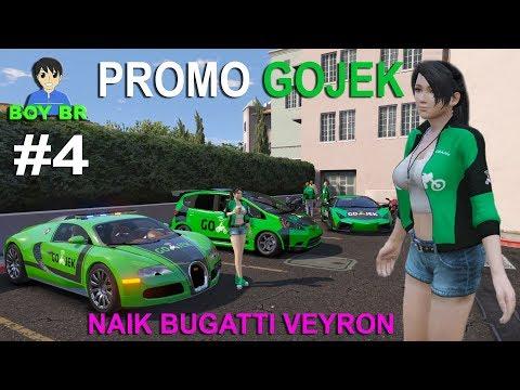 KISAH SEORANG DRIVER GOJEK - REAL LIFE Part 4 - GTA 5 MOD INDONESIA