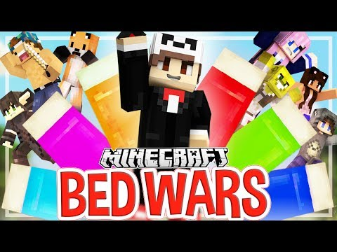 Battle of the YouTubers! | Minecraft Bed Wars