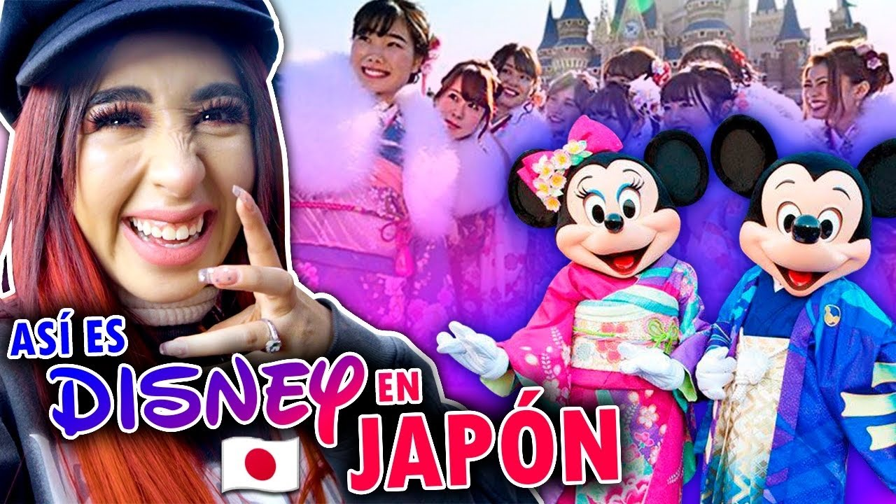 EL PARQUE DE DISNEY MÁS EXTRAÑO 🤯 DISNEY TOKIO 🎌 Queen Buenrostro