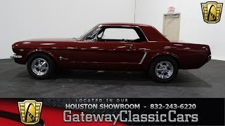 1965 Ford Mustang -Gateway Classic Cars of Houston - stock 331-HOU
