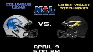 Lehigh Valley Steelhawks Vs. Columbus Lions