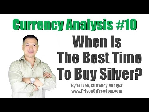 Currency Analysis #10 - When Is The Best Time To Buy Silver? - By Tai Zen