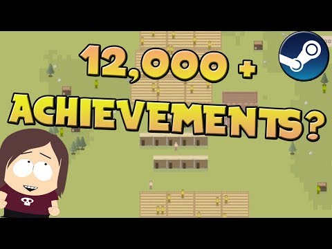 Game with the most Achievements on Steam || It's Village