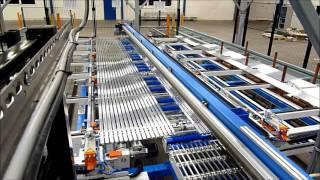 Automatic aluminium cutting machine multiple profiles