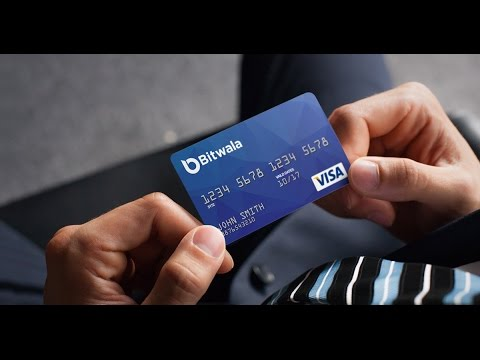 Using a Bitcoin Visa Debit Card