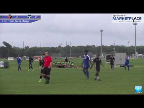 BOCA FC Knights vs Baton Rouge Soccer Club 2017-06-03