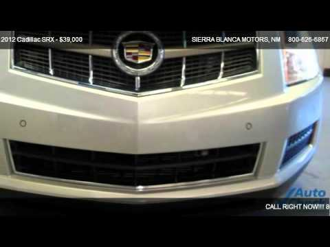 2012 cadillac srx luxury collection for sale in ruidoso for Sierra blanca motors ruidoso