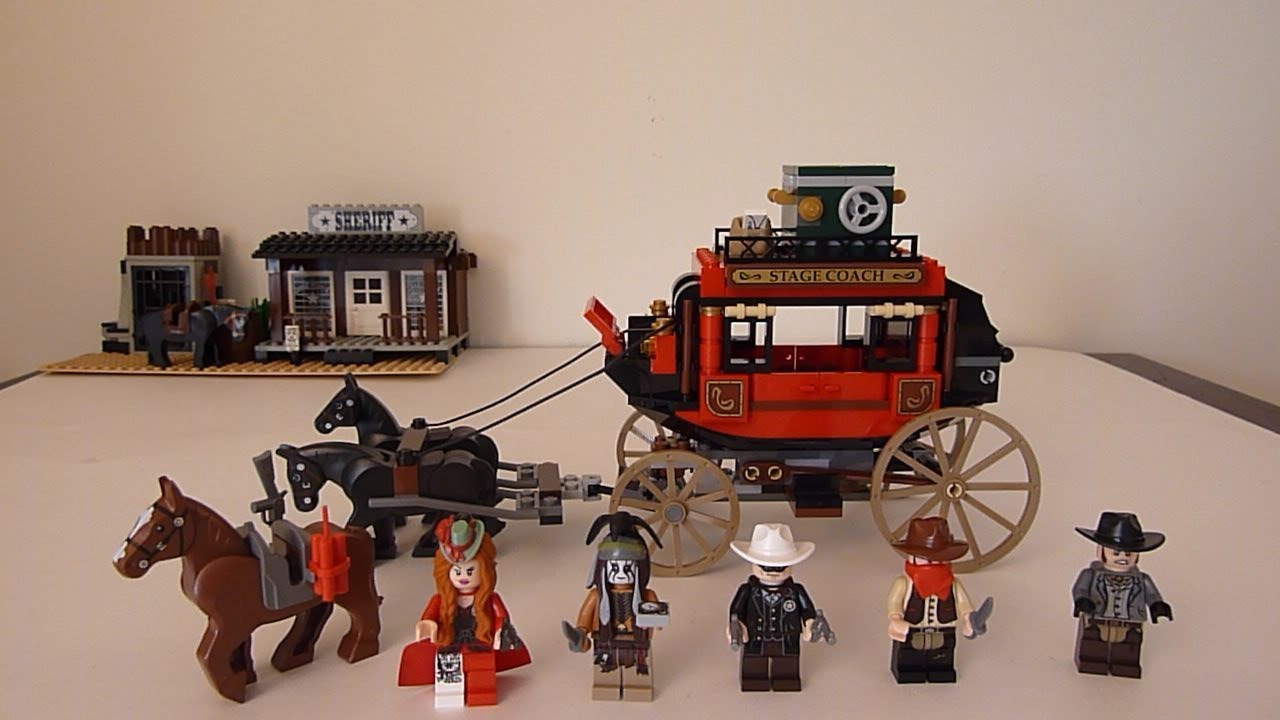 Review - The Lone Ranger Stagecoach Escape — BrickNerd - Your ...