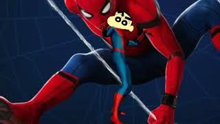 Shinchan tamil // Intro song // Spiderman costume //shinchan darling 🔥
