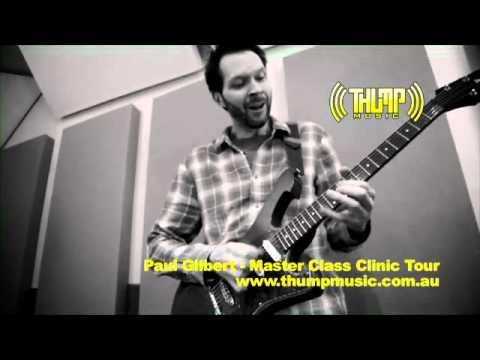 Paul Gilbert - Master Class Clinic Tour 2012
