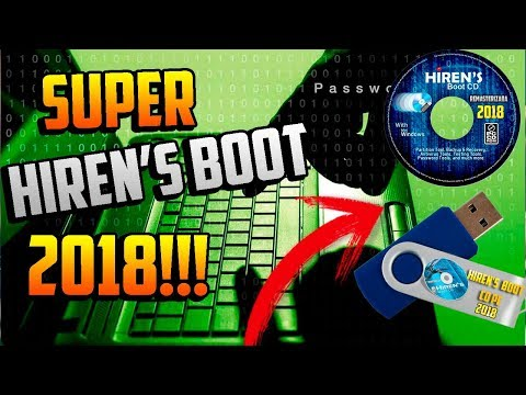 SUPER USB HIREN'S BOOT 2018 / Reparar Tu Windows Sin FORMATEAR
