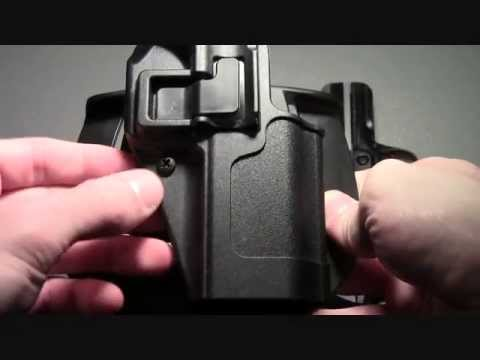 Blackhawk Serpa CQC holster for concealed carry YouTube