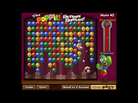 Игра Лопаем Цветные Шарики и Пузыри