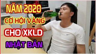 🔥HVTV NĂM 2020 CƠ HỘI VÀNG CHO XKLD NHẬT BẢN || VIZA TOKUTEI