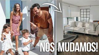 ¡NOS MUDAMOS del PISO a la NUEVA CASA! DORMIMOS por primera vez en NTDM | Familia Coquetes
