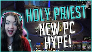 Patch 7.3 Holy Priest PvP New PC Hype & Close Game!