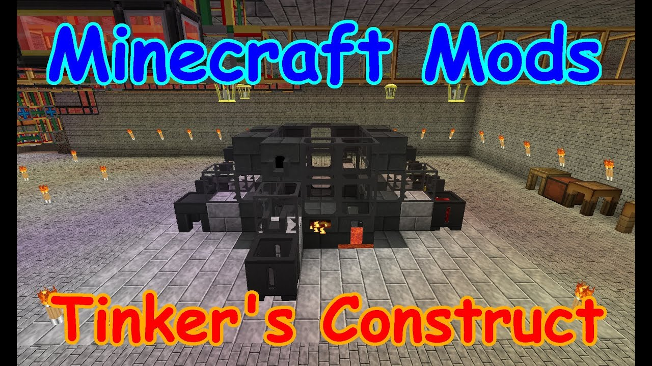 Minecraft Tinkers Construct Rooms - Year of Clean Water