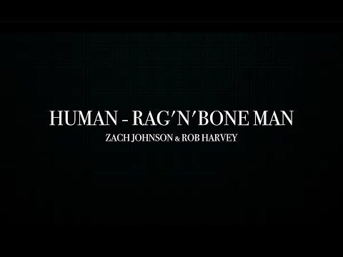 Human - Rag'n'Bone Man (Cover) - Zach Johnson & Rob Harvey