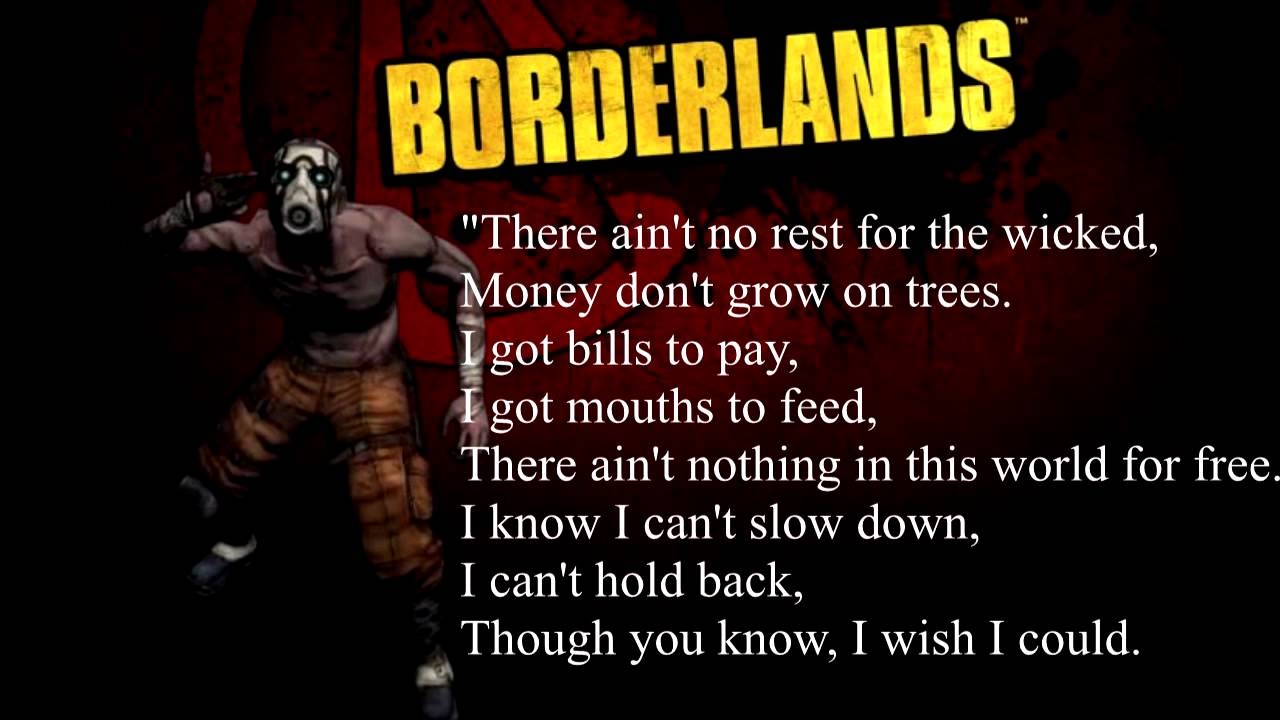 borderlands theme