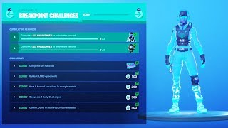 "The New ""BREAKPOINT"" CHALLENGES in Fortnite (FREE ITEMS)"