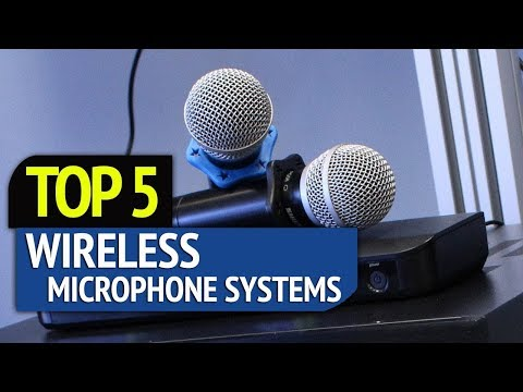 TOP 5: Wireless Microphone Systems
