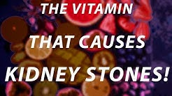 Too much of this vitamin can lead to kidney stones!