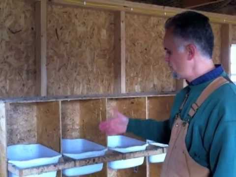 Easy plans for building a chicken coop