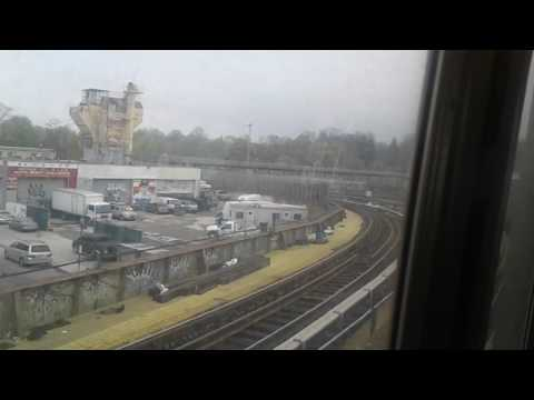 (D) local line from 71st street to West 4th street (Brooklyn to Manhattan) *subway madness*