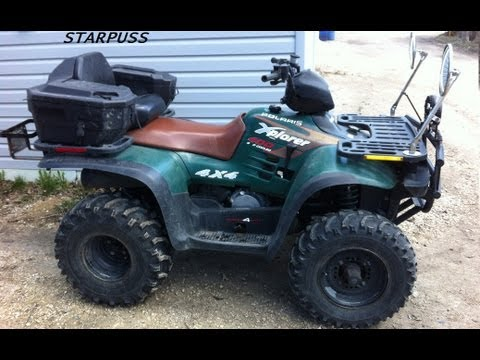 COLD START Polaris Xplorer 400 ( 2 Stroke 4x4 Quad )