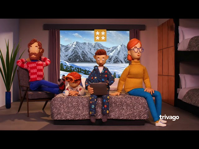 Trivago 'To the mountains' by A+C Studios