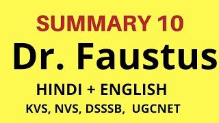history of English Literature -Dr .Faustus in Hindi