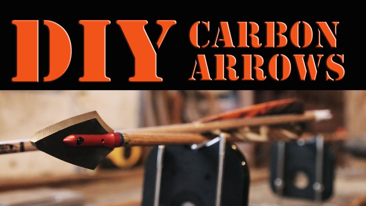 CARBON ARROWS - Cutting, installing inserts, and broadhead tuning
