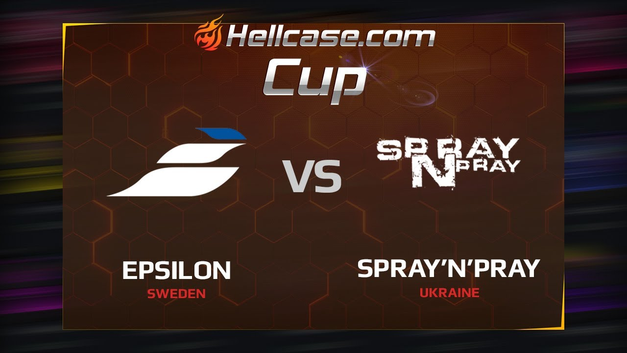 [EN] Epsilon vs spray'n'pray, map 2 train, Hellcase Cup Season 5