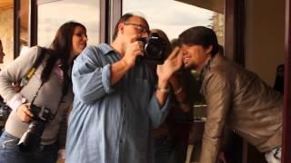 BACKSTAGE MIRIAM CANI & ALBAN SKENDERAJ NENTOR 2012
