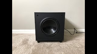 DCM Cinema1 Home Theater Powered Active Subwoofer