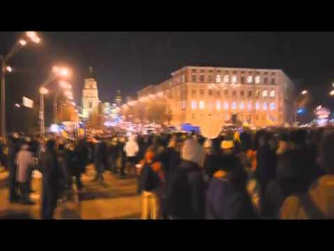 Євромайдан. Алилуя - Euromaidan. Hallelujah (Mariana Dzus, Taras Yachshenko)