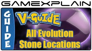 Pokémon X & Y - All Evolution Stone Locations (Guide & Walkthrough)