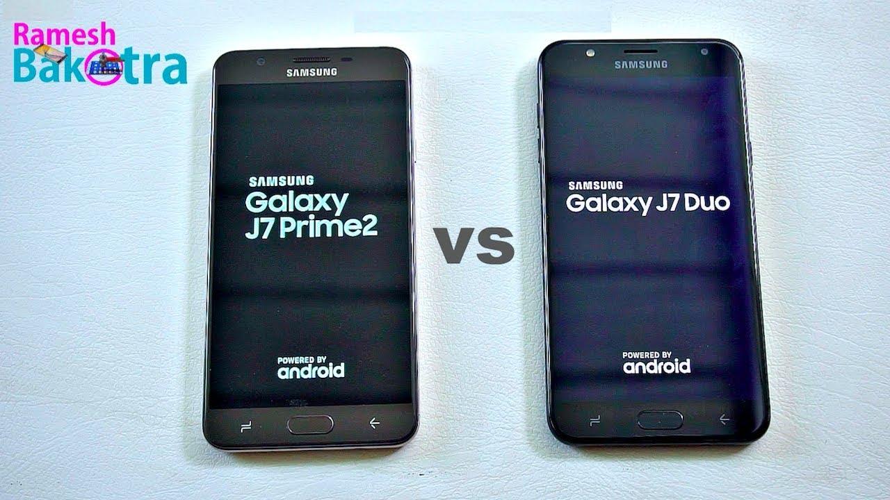 J7 Galaxy Samsung Vs J7 Prime