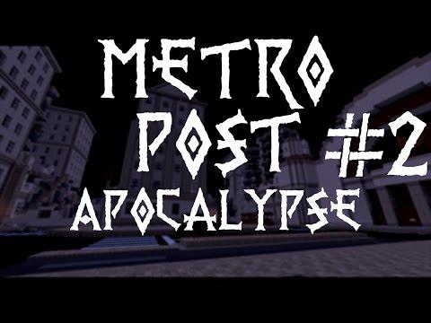 Metro Post Apocalypse #2 - Toget sier TUT! - Minecraft Norsk