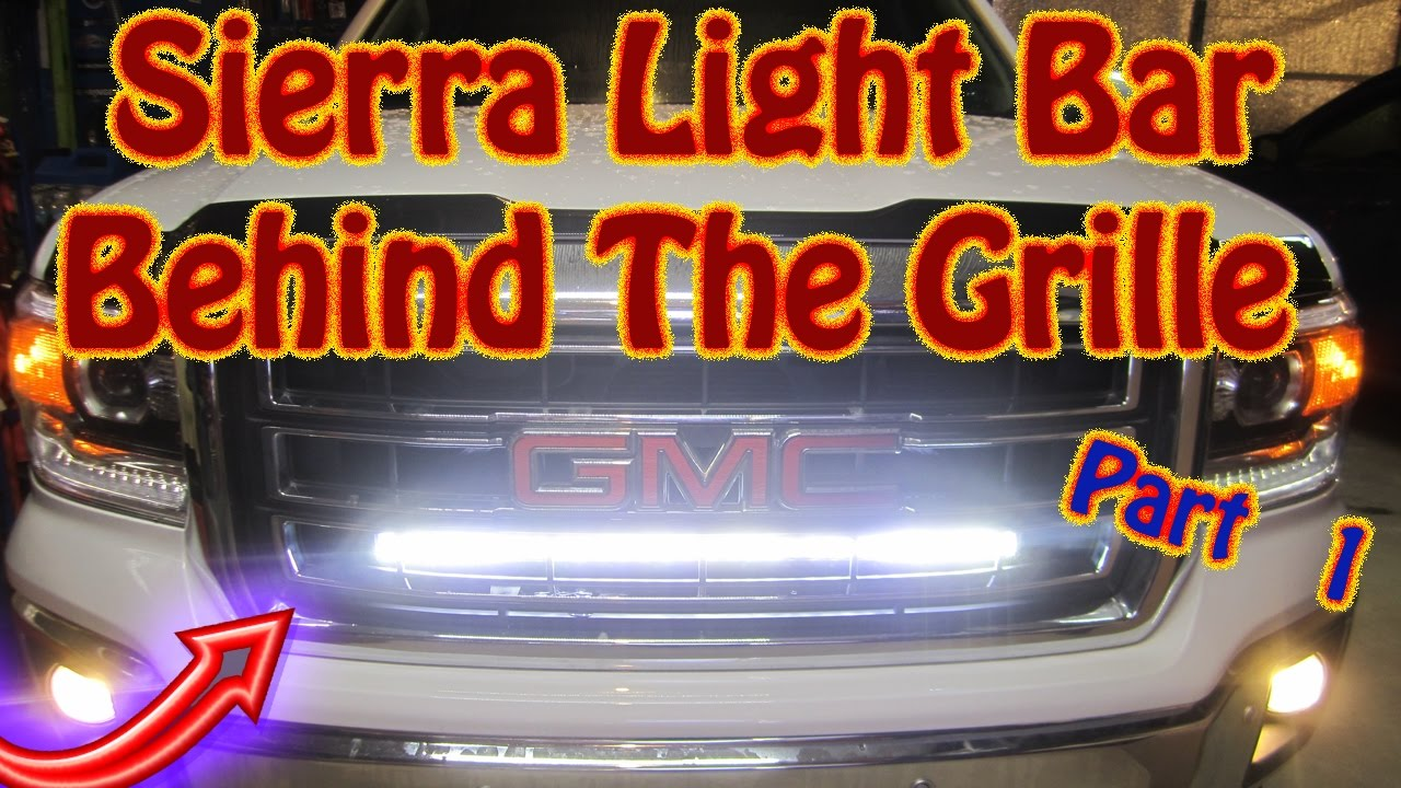 Mount A 32 Quot Auxbeam V Series Led Light Bar Behind The