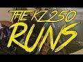 IT RUNS!!!!! -- 1980 Kawasaki KZ250 Build