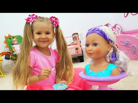 Dolls Run Away from Diana