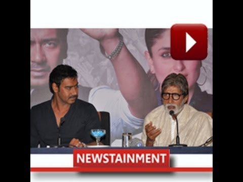 Movie  Satyagraha Global Trailer Launch