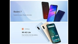 Redmi 7 vs Xiaomi Mi A2 Lite comparison Which smartphone to buy? Revisited/2019