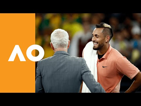 McEnroe offers $1k to bushfire charities for every set Kyrgios wins at Australian Open 2020 (1R)