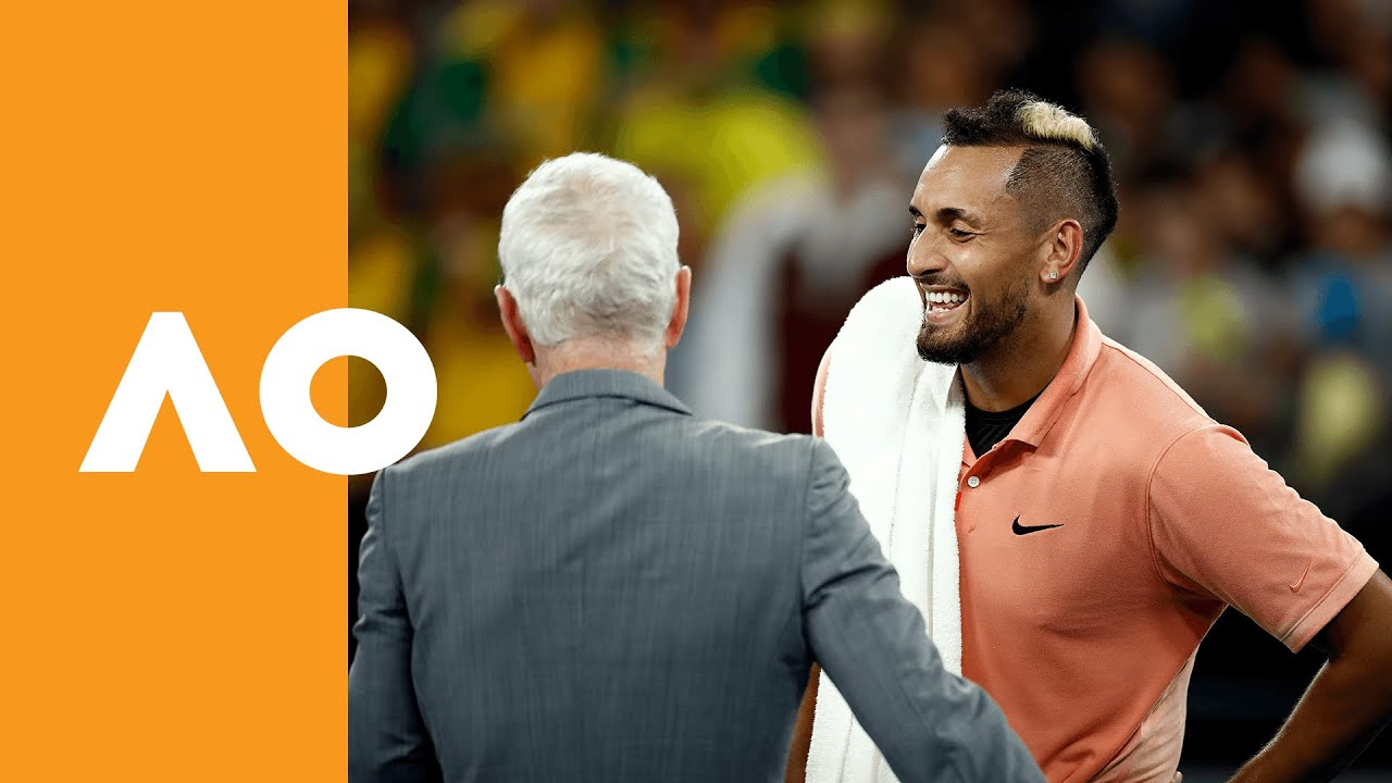Mcenroe Offers 1k To Bushfire Charities For Every Set Kyrgios Wins At Australian Open 2020 1r