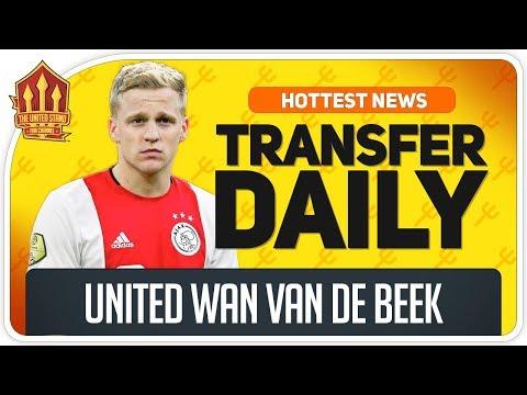 Van de Beek & Sancho Transfer Latest! Man Utd Transfer News
