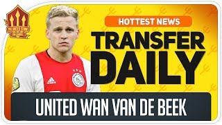 Van de Beek & Sancho Transfer Latest! Man Utd Transfer News