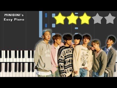 iKON - ADORE YOU (좋아해요) 《MINIBINI EASY PIANO ♪》 ★★★☆☆