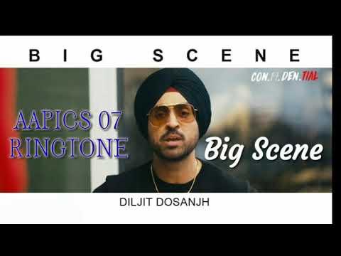 Big Scene Ringtone | Diljit Dosanjh